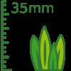 Césped artificial 35mm