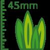 Césped artificial 45mm